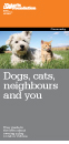 Dogs, cats, neighbours and you
